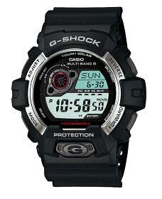 【送料無料!+ポイント2倍以上!!】【国内正規品CASIOG-SHOCK】カシオGショック腕時計ジーショックg-shockgショック電波ソーラーデジタルブラックGW-8900-1JF