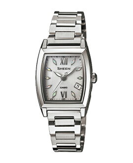 + Casio scene ladies wristwatch radio Solar Silver SHW-1503D-7AJF