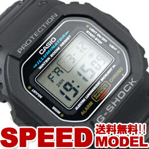 CASIO カシオ G-SHOCK Gショック スピードモデル デジタル 腕時計 DW-5600E-1VCT【ポイント2倍!...