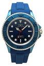 【テクノス】【TECHNOS】【送料無料】【訳あり:A】【アウトレット】【正規品】【腕時計】TECHNOS/テクノスT4611NN回転ベゼルシリコンベルト腕時計メンズブルー