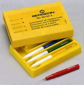 時計 工具 BERGEON(ベルジョン) 30102-4オイラー4本セットケース入り