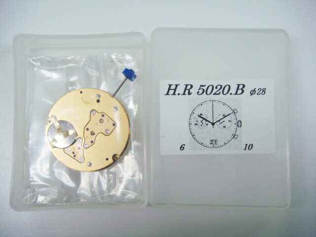 【RONDA(ロンダ)】ムーブメント5020B 3針多軸