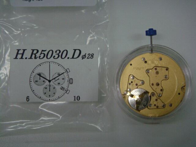 【RONDA(ロンダ)】ムーブメント5030D 3針多軸