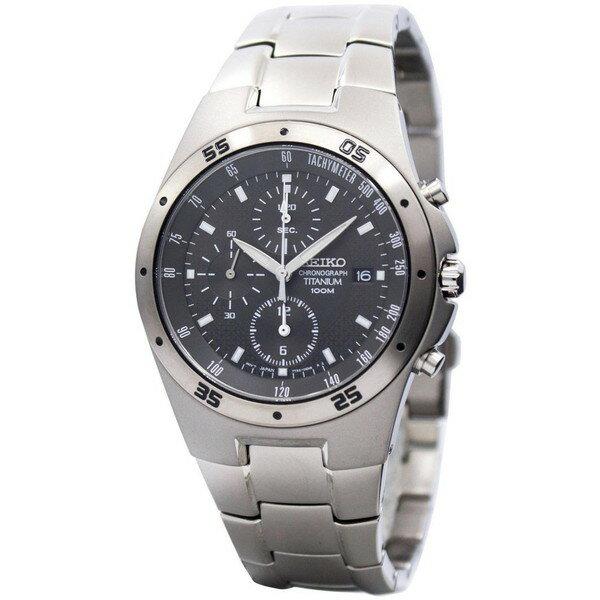 腕時計, メンズ腕時計 SEIKO TITANIUM CHRONOGRAPH SND419P1