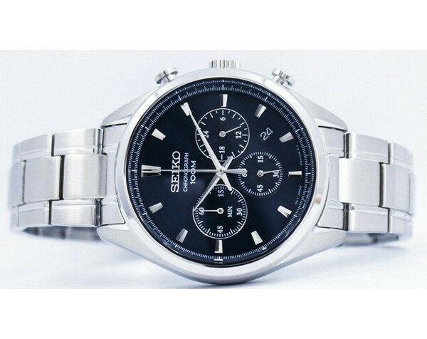 [セイコー]SEIKO 腕時計 QUARTZ CHRONOGRAPH クオーツ クロノグラフ  SSB223P1 メンズ [並行輸入]