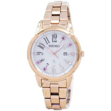 [セイコー]SEIKO 腕時計 LUKIA SOLAR ルキア ソーラー SUT302J1 レディース [並行輸入]