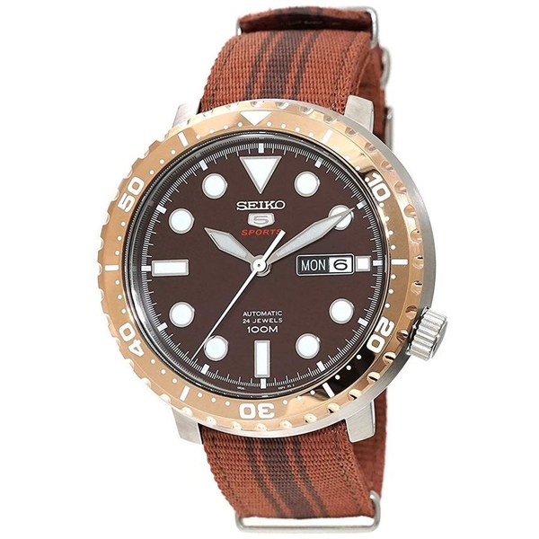 [セイコー]SEIKO 腕時計 5 SPORTS BOTTLE CAP AUTOMATIC スポーツ オートマチック SRPC68K1 メンズ [並行輸入]
