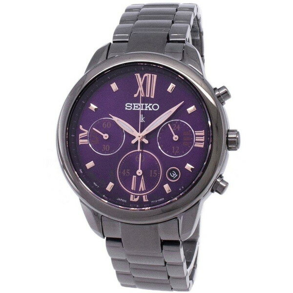 腕時計, レディース腕時計 SEIKO LUKIA CHRONOGRAPH QUARTZ SRWZ86P1