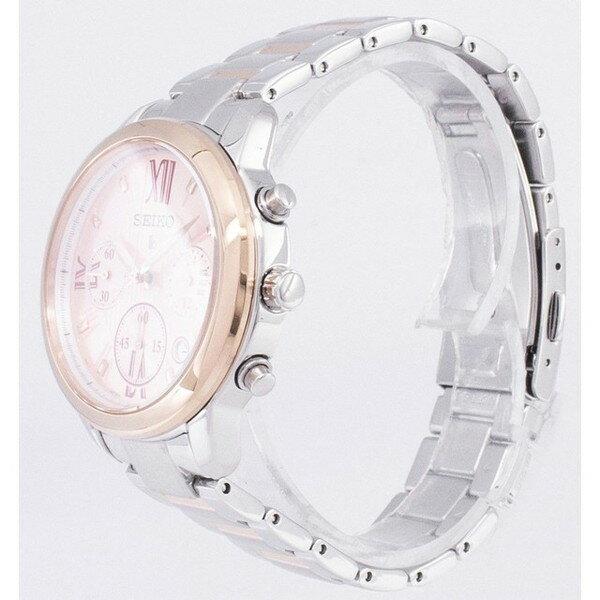 [セイコー]SEIKO 腕時計 LUKIA CHRONOGRAPH QUARTZ ルキア クロノグラフ クオーツ SRWZ90P1 レディース [並行輸入]