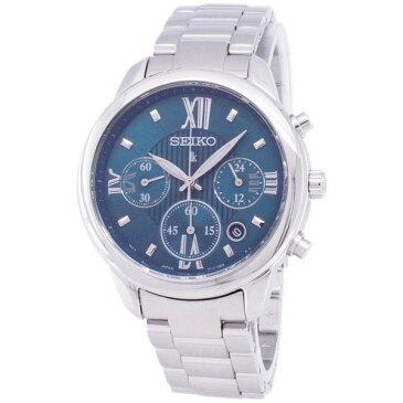 [セイコー]SEIKO 腕時計 LUKIA CHRONOGRAPH QUARTZ ルキア クロノグラフ クオーツ SRWZ93P1 レディース [並行輸入]
