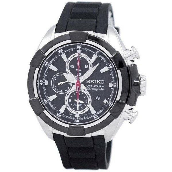 腕時計, メンズ腕時計 SEIKO VELATURA ALARM CHRONOGRAPH SNAF39P3