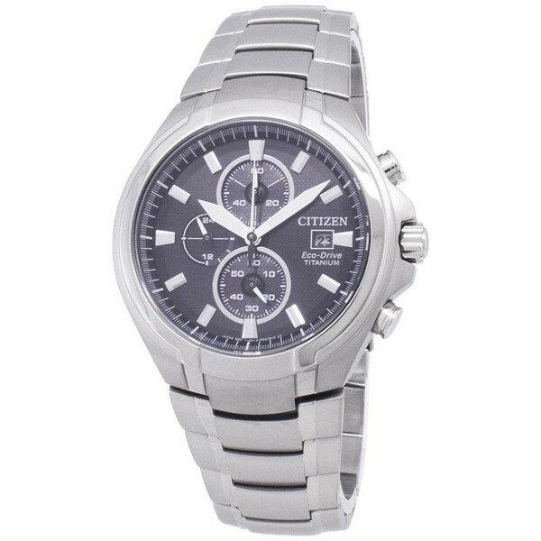 腕時計, メンズ腕時計 CITIZEN ECO-DRIVE TITANIUM CHRONOGRAPH CA0700-86E