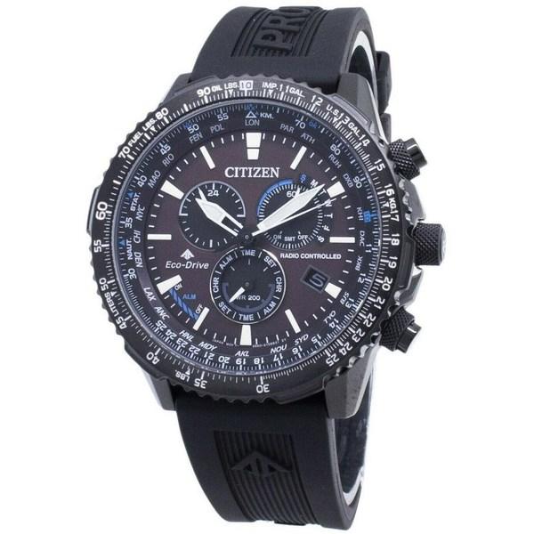 [シチズン]CITIZEN 腕時計 PROMASTER ECO-DRIVE RADIO CONTROLLED プロマスター エコドライブ 電波時計 CB5005-13X メンズ [並行輸入]