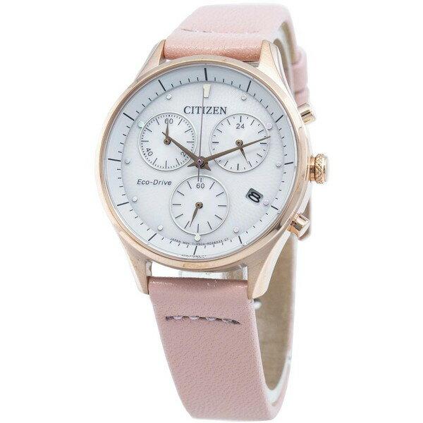 腕時計, レディース腕時計 CITIZEN ECO-DRIVE CHANDLER CHRONOGRAPH FB1443-08A