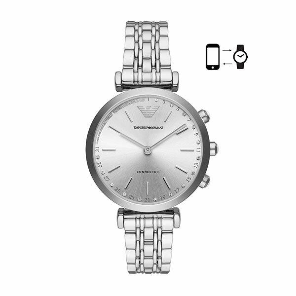 【EMPORIO ARMANI公式2年保証】エンポリオアルマーニ EMPORIO ARMANI コネクテッド スマートウォッチ ウェアラブル 腕時計 レディース ジアンニ, ジャンニ GIANNI T-BAR ART3018