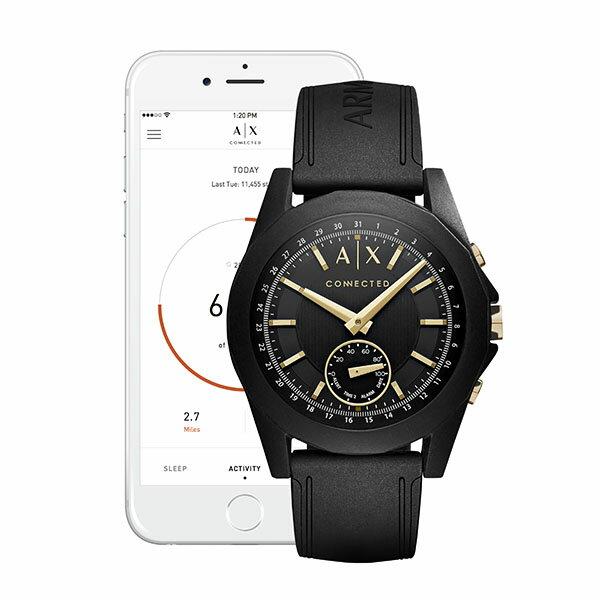 【ARMANI EXCHANGE公式2年保証】アルマーニ エクスチェンジ ARMANI EXCHANGE コネクテッド スマートウォッチ ウェアラブル 腕時計 メンズ ドレクスラー DREXLER AXT1004