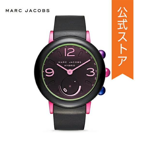 ★30%OFFセール 【MARC JACOBS公式2年保証】マークジェイコブス MARC JACOBS コネクテッド スマートウォッチ ウェアラブル 腕時計 レディース ライリー ハイブリッド RILEY HYBRID MJT1003
