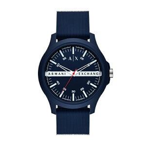 2021 夏の新作 アルマーニ エクスチェンジ 腕時計 アナログ ブルー メンズ ARMANI EXCHANGE 時計 AX2421 HAMPTON ハンプトン 公式 2年 保証