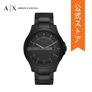 2021 夏の新作 アルマーニ エクスチェンジ 腕時計 アナログ ブラック メンズ ARMANI EXCHANGE 時計 AX2427 HAMPTON ハンプトン 公式 2年 保証