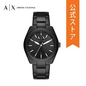 2021 夏の新作 アルマーニ エクスチェンジ 腕時計 アナログ ブラック メンズ ARMANI EXCHANGE 時計 AX2858 GIACOMO ジャコモ 公式 2年 保証