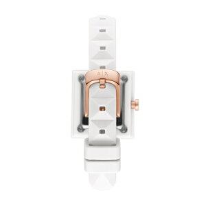 2021 夏の新作 アルマーニ エクスチェンジ 腕時計 アナログ ホワイト レディース ARMANI EXCHANGE 時計 AX4401 KARLA カーラ 公式 2年 保証
