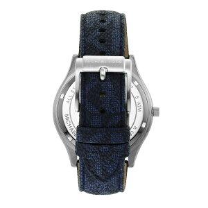 2021秋の新作マイケルコース腕時計アナログブルーメンズMICHAELKORS時計MK8907SLIMRUNWAY公式2年保証