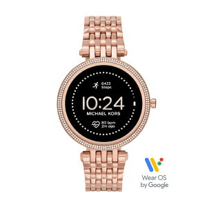 2021春の新作マイケルコーススマートウォッチタッチスクリーンレディースMICHAELKORS腕時計MKT5128DARCIGEN5ESMARTWATCH公式2年保証
