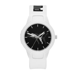 2021 夏の新作 プーマ 腕時計 アナログ ホワイト レディース PUMA 時計 P1048 RESET V2 リセット V2 公式 2年 保証