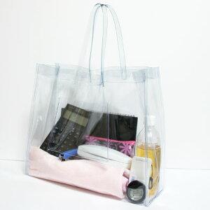 【温泉バッグ】【ビーチバッグ】【プールバッグ】中に入っている物が一目で確認できる!プール...