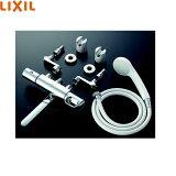 【フラッシュクーポン対象ショップ】[BF-WM145TZSG-AT]リクシル[LIXIL/INAX]取替用水栓シャワーバス水栓[サーモスタット][エコフルスプレーシャワー][一般地仕様]【送料無料】