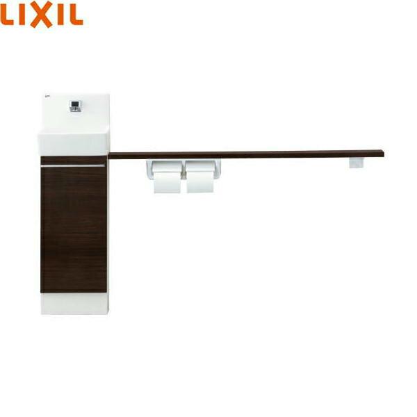 [YL-DA82VKA12B]リクシル[LIXIL/INAX]トイレ手洗[コフレルスリム(埋込)]カウンター・キャビネットタイプ(左右共通)[1,200サイズ]:ハイカラン屋