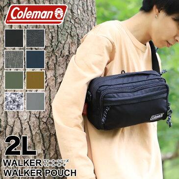Coleman コールマン 送料無料 WALKER ウォーカー WALKER POUCH ウエストバッグ ショルダーバッグ ウエストポーチ 2WAY 2L ウォーカーポーチ アウトドア ブランド メンズ レディース 男女兼用 普段使い ウォーキング 旅行 レジャー 鞄