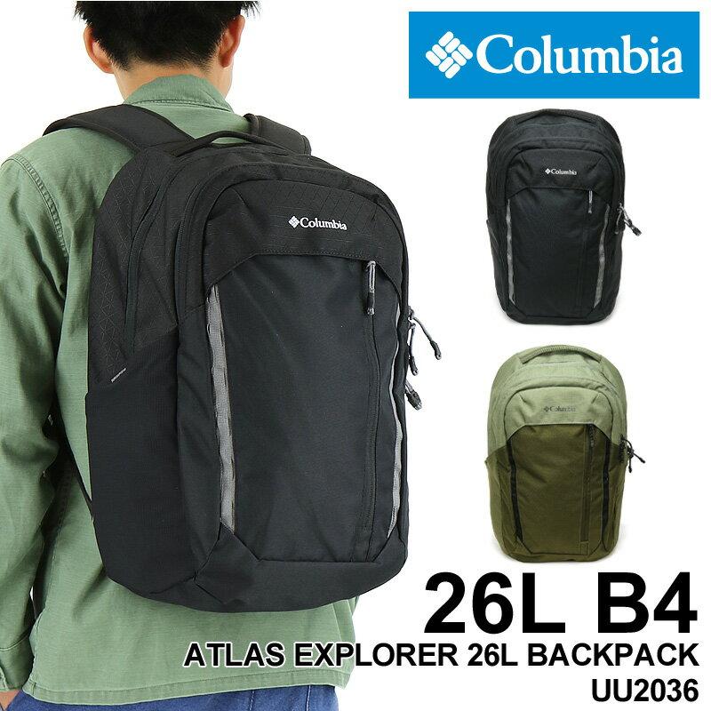男女兼用バッグ, バックパック・リュック 20219Columbia ATLAS EXPLORER 26L BACKPACK 26L B4 A4 PC UU2036