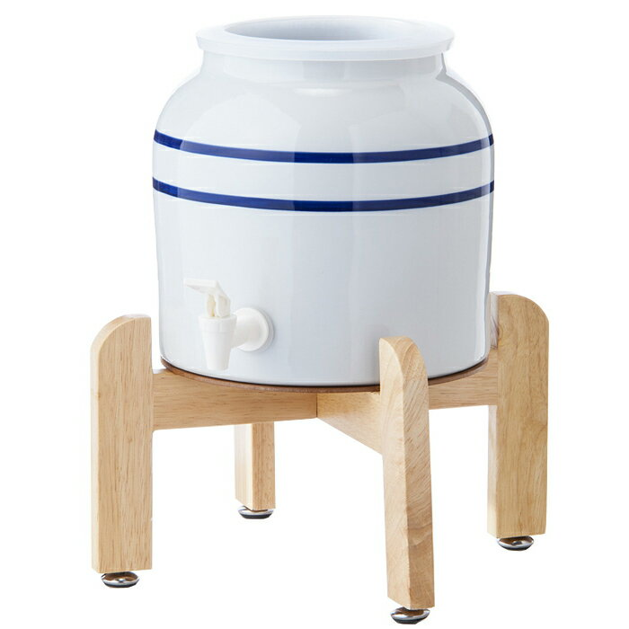 卓上陶器製ウォーターサーバー スプリングウェル(リングタイプ)常温 給水器 ウォーターサーバー セラミック