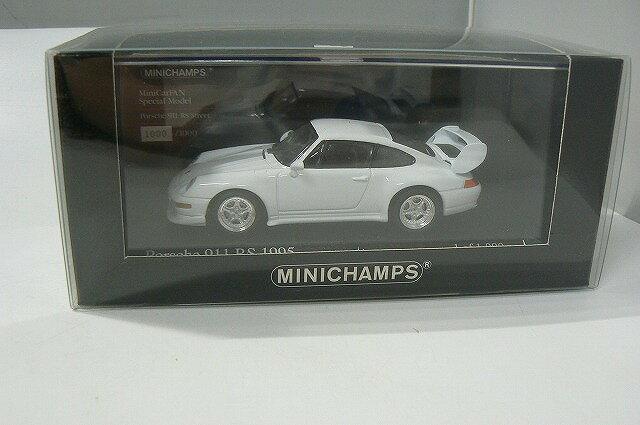 アンティークトイ, 車  MINICHAMPS Porsche 911 RS 1995