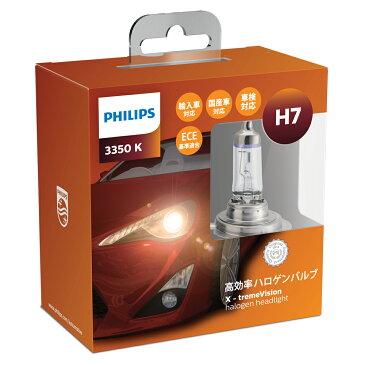 H-7 ハロゲンバルブ PHILIPS(フィリップス) エクストリームヴィジョン