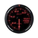 【訳あり】Defi(デフィー)メーター レーサーゲージ60φ 圧力計 レッド