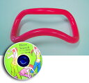 【ポイント10倍】【送料・代引き無料】 ウェーブストレッチリングDVDセット〔2〕プラスチックリング1本+DVD(ベーシック)