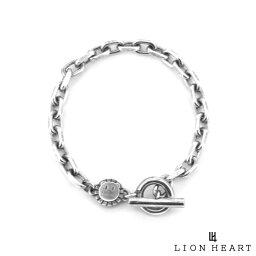 ライオンハート LION HEART SunKu サンク コラボ ブレスレット サイドカットケーブルチェーン シルバー925 メンズ ブランド