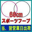 スポーツフープ 66cm 【フラフープ】【一流工場生産のライテック社(M-net)(エムネット)(LITEC)】DF023