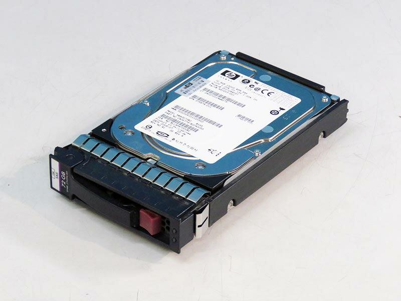 392254-002 HP 72GB 3.5インチ/SAS/15000rpm 富士通 MAX3 RC MAX3073RC マウンタ付き【中古】【送料無料セール中! (大型商品は対象外)】