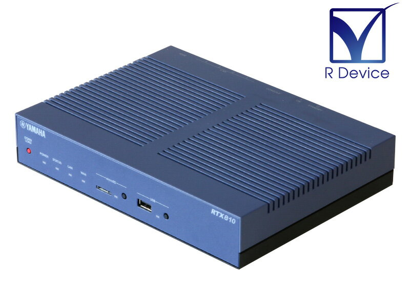 有線LAN, 有線LANルーター RTX810 YAMAHA VPN Rev.11.01.34