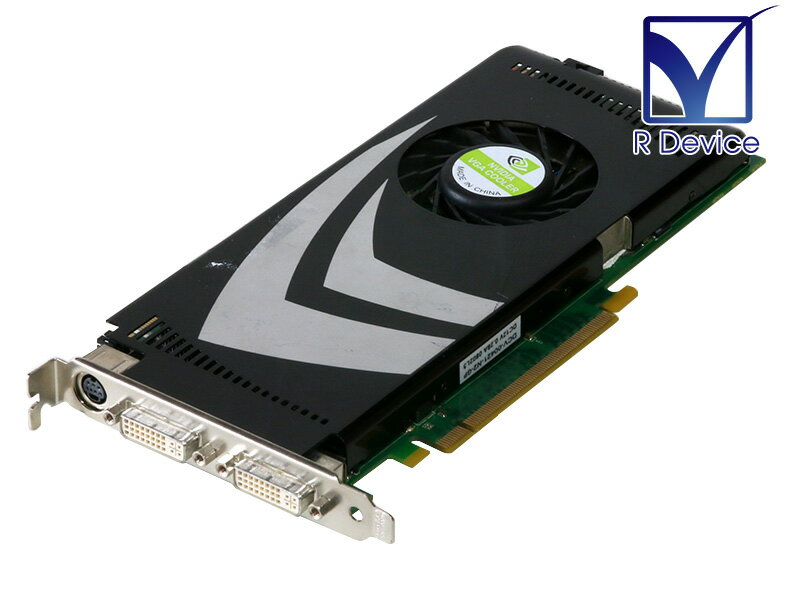 NVIDIA Corporation GeForce 9600 GT 512MB DVI-I DualLink *2/TV-out PCI Express 2.0 x16 P/N:600-10545【中古】画像