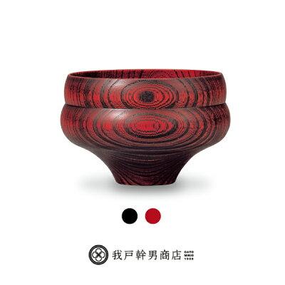 我戸幹男商店の漆器汁椀 瓢型