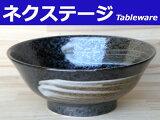 荒刷毛 6.8高臺ラーメン丼【ラーメン丼】【丼】【どんぶり】【美濃焼,食器,%OFF】