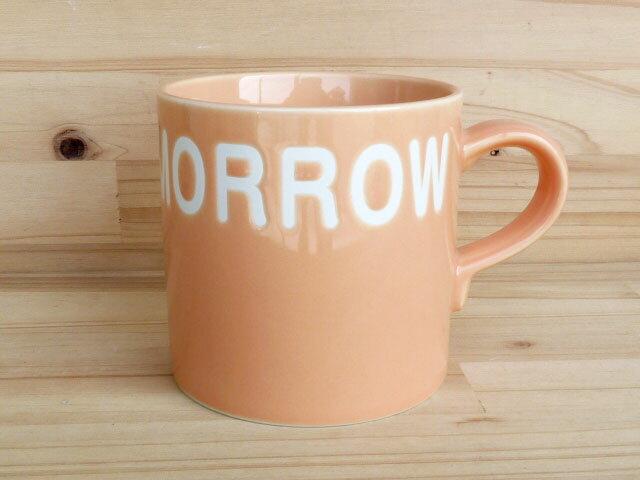 FINE TOMORROW マグカップ オレンジ画像