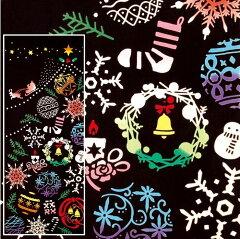 和風インテリア 《 手ぬぐい てぬぐい 》 クリスマス タペストリー【 手ぬぐい てぬぐい 】 ...