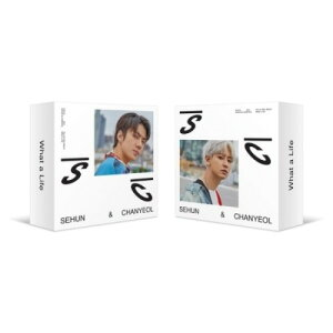 EXO セフン&チャニョル 1ST MINI ALBUM [ What a life ] KIT バージョン選択可能 キット