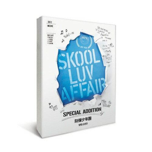 韓国(K-POP)・アジア, 韓国(K-POP) BTS Skool Luv Affair Special Addition 2DVD100P