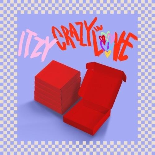 CD, 韓国(K-POP)・アジア ITZY 1st Album CRAZY IN LOVE 6ITZYYEJILIARYUJINCHAERYEONG YUNA VER1